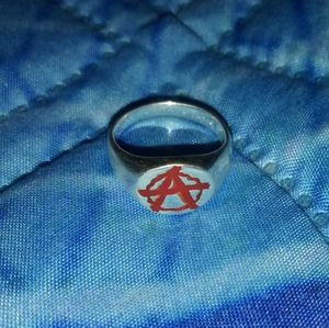 Anarchy Silver Ring